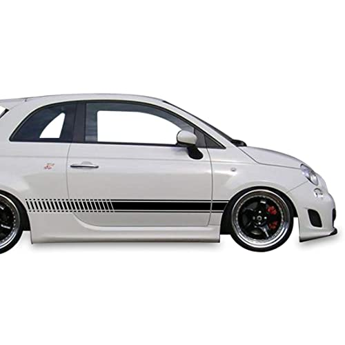 Fiat 500//500T /& Abarth Cravenspeed Stubby Antenna Red//Black for the 2012