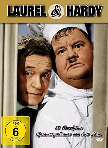Die Laurel & Hardy Box (25 Filme) [Alemania] [DVD]