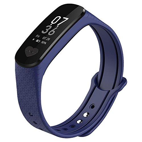 Bluelover B9 EKG Hartslagmeter voor bloeddrukmeter Ip67 waterdicht Smart Armband voor Android iOS