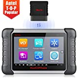 Autel Scanner MaxiCOM MK808BT OBD2 Scan Tool, Supports Full System Diagnosis, ABS Auto Bleed, IMMO Key Fob, Oil Reset, EPB, BMS, SAS, DPF, Upgraded Version of MK808 / MX808, 2020 Newest Version