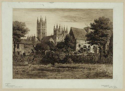 Foto: Canterbury, Inglés Catedral ciudad, Patrimonio Mundial de la UNESCO, Kent, Reino Unido