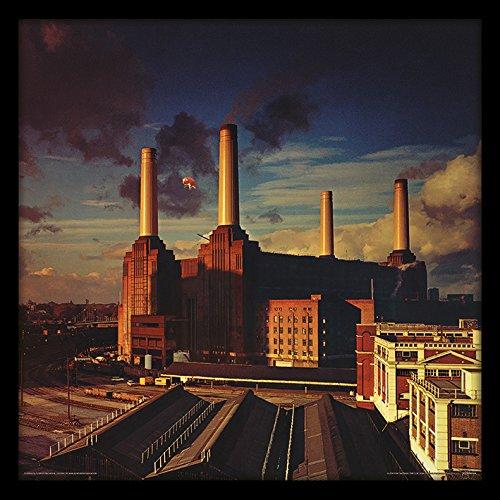 Pink Floyd Animals - Álbum de fotos (30,5 cm, MDF, multicolor, 32 x 32 x 1,5 cm)
