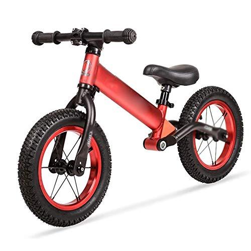 YWSZJ Bicicleta sin Pedales Bicicleta de Equilibrio Bicicleta de Entrenamiento Ligera para niños pequeños para niños de 2~6 años Bicicletas de Empuje ultraligeras (Color : D)
