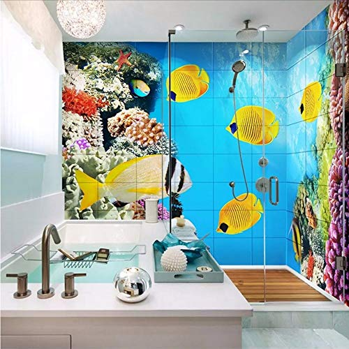 Wuyii Foto Wallpaper 3D Cartoon bureau-onderlegger Mondo Murales Pvc zelfklevend waterdicht badkamer Cartoon Camera Home Decor Wall Stickers 400 x 280 cm