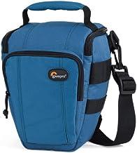 Lowepro Toploader Zoom 50 AW - Funda para cámara (Correa para Hombro, Cierre de Cremallera), Color Azul Marino