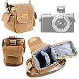 DURAGADGET Etui avec bandoulière pour Canon PowerShot G9 X Mark II, Fujifilm XP120,...
