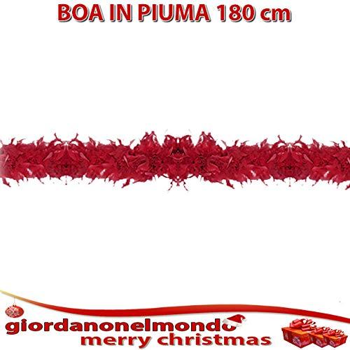 LINEA MARTI Boa en pieme de Marabu 'para decoración de Navidad Carnaval espectáculos Teatro Traje de Burlesque