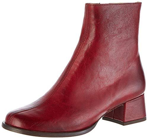 Neosens Damen S3037 Dakota Alamís Kurzschaft Stiefel, Rot (Carmin Carmin), 39 EU