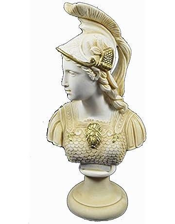 YUELI Statua Scultura Figurine //Busto Guerriero Romano Antico/1//10////Figura in Resina Kit Modello Miniatura Smontaggio Non Verniciato
