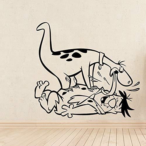 Tianpengyuanshuai wandsticker dinosaurus schattige decoratie voor kinderkamer PVC kinderen mobiele decoratie van het huis