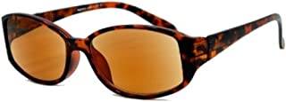 Stylish Eyes - Full Reader Outdoor Reading Sunglasses NOT Bifocals - Hard Case/Cleaning Cloth Included