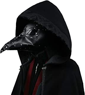 Plague Bird Doctor Mask with Goggles Gothic Face Mask Cosplay Mask