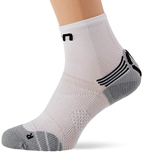 UYN Damen Superleggera Runningsocken Socken, White/Coral, 37/38