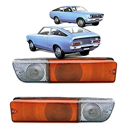Nonstops Front Parking Turn Signal Lamp Orange Fits Datsun 120Y 280Z 240Z 260Z 1968 1973