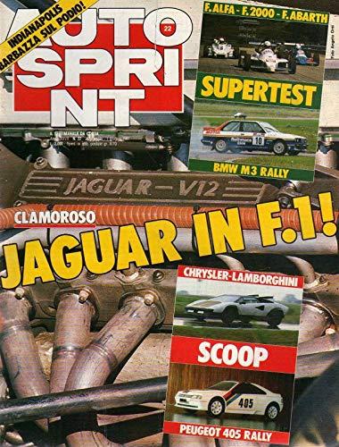 Autosprint 22 mag-giu 1987 Senna scrive per Autosprint-Chrysler Lamborghini Scoop
