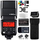 Godox V350C 2.4G HSS 1 / 8000S TTL GN36 2000mAh Ving Li-Ion Master Slave Camera Flash Speedlite para cámara Canon