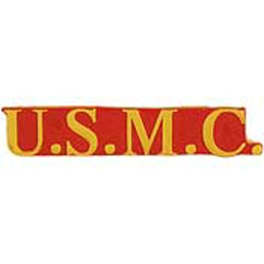 EagleEmblems P12615 Pin-Usmc,Scr U.S.M.C. (1.5'')