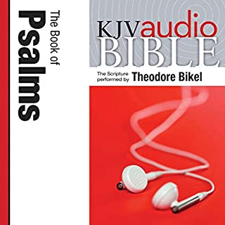 King James Version Audio Bible: The Book of Psalms Performed by Theodore Bikel cover art