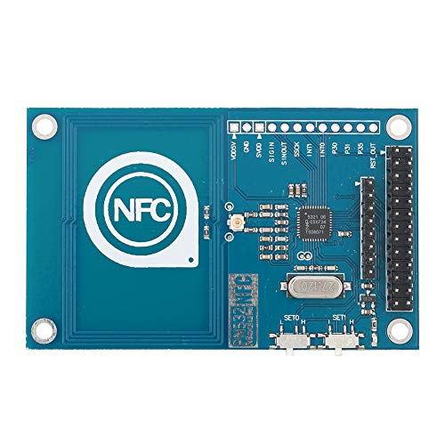 Heayzoki NFC Board Module,13.56mHz PN532 RFID IC Card Reader Module NFC Board for Arduino Raspberry PI,Anti-aging,Supports for SPI, IIC, UART Interface Switching.