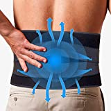 Back Pain Cold Ice Pack-Reusable Hot Cold Lower Back Brace for Lumbar, Waist, Abdomen, Hip Back Injuries -Relieve Sciatica,Coccyx,Scoliosis Herniated Disc - Back Support Belt for Men Women Pain Relief