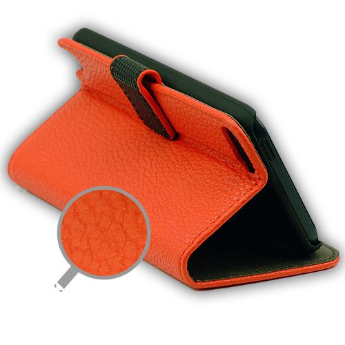 ROTRi Tasche für iPod Touch 5 mit Stand-Funktion - rot