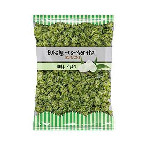 EUKA MENTHOL Eukalyptus Bonbons hell, 2er Pack (2 x 1000 g)