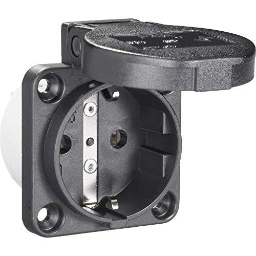PCE 601.450.01 Anbau-Steckdose IP54 Schwarz
