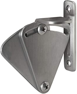 KIRIN Barn Door Stainless Steel Privacy Latch Lock for Sliding Door Work for Pocket Doors Garage and Shed Wood Glass Gates