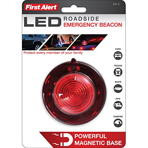 First Alert EB1-R Road Flare - Luz LED para bicicleta, color roj