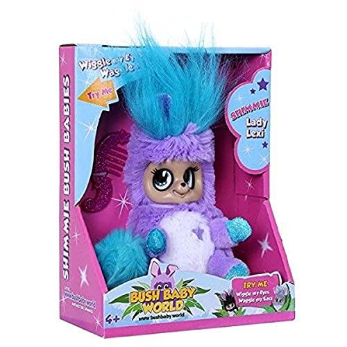 Bush Baby World Shimmies Soft Toy - Blue Lady Lexi