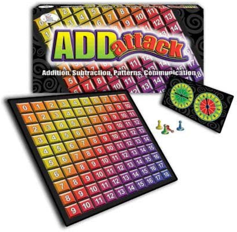 WIEBE CARLSON CARLSON CARLSON ASSOCIATES Addattack Math Game CRE4791 B00B45036G  | Niedriger Preis  a4353a