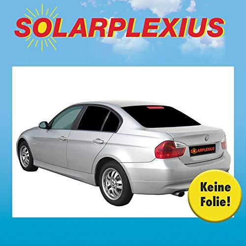 Solarplexius Sonnenschutz Autosonnenschutz Scheibentönung Sonnenschutzfolie 3 Limo E90 5-Türer Bj. 05-12