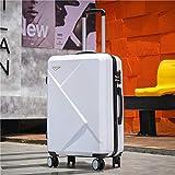 KGDUYH Maleta Maleta de Viaje de Equipaje de 20''24/28 Pulgadas en Las Ruedas 20 '' Carry On Cabin Trolley Equipaje Bolsa de Equipaje ABS + PC Maleta Conjunto de Moda para Viajes de Negocios