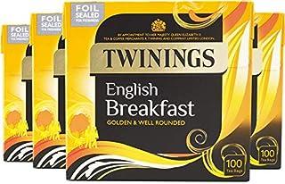 Twinings English Breakfast Tea 400 Tea Bags, (Multipack of 4 x 100 Bags) (B007RXUFL2) | Amazon price tracker / tracking, Amazon price history charts, Amazon price watches, Amazon price drop alerts