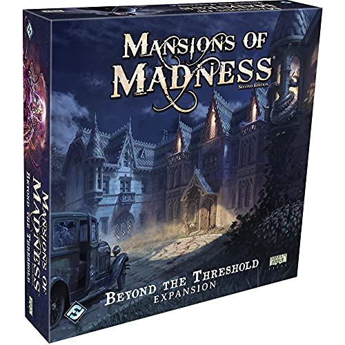 Mansions of Madness Beyond the Threshold Board Game EXPANSION | Horror Game | Mystery Game for Teens and Adults | Ages 14+ | 1-5 Players | Average Playtime 2-3 Hours | Made by Fantasy Flight Games