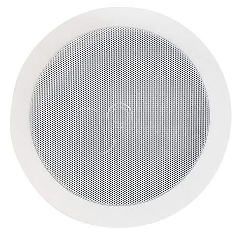 Einbaulautsprecher 165 mm rund, Weiß