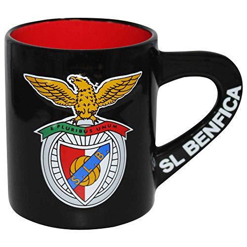 Offizielle SL Benfica Primeira Liga 3D Fußballwappen Kaffeetasse
