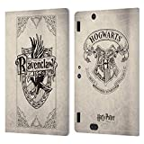 Head Case Designs Licenciado Oficialmente Harry Potter Pergamino Ravenclaw Sorcerer's Stone I Carcasa de Cuero Tipo Libro Compatible con Amazon Kindle Fire HDX 8.9