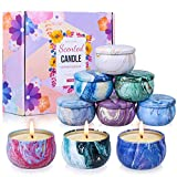 OBES Scented Candles Soy Wax Women Gift Set of 9,Strongly...