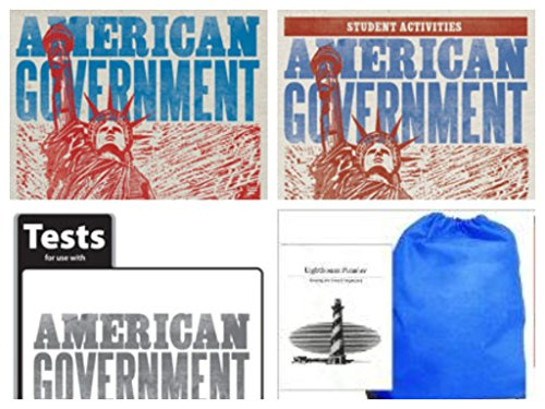 Price comparison product image BJU Press American Government (Gr 12) SET -- Text,  Activities Manual and Tests Homeschool Kit in a Bag