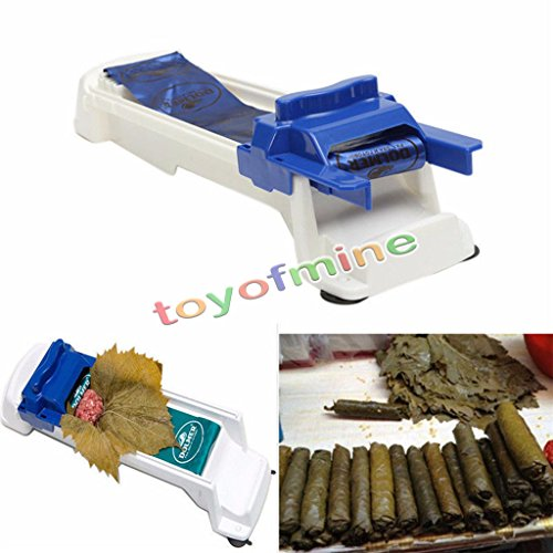 Sushi Roller Machine Plastic Kitchen Grape/Cabbage Rolling Leaf Roll Maker Tool