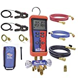 Uniweld USMAN5 SmarTech Wireless Digital Manifold, Bluetooth Supported with 5 Ft. Hoses