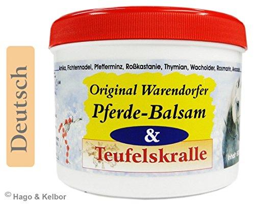 H - Warendorfer Pferdebalsam mit Teufelskralle 500 ml