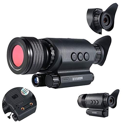 SSeir HD Digital Nachtsicht Monokular Fernglas, W-LAN Fernrohr Infrarot IR-Video Fotografieren Video Unterstützung TF Karte Für Wild Lebende Tiere Tag-Und Nacht