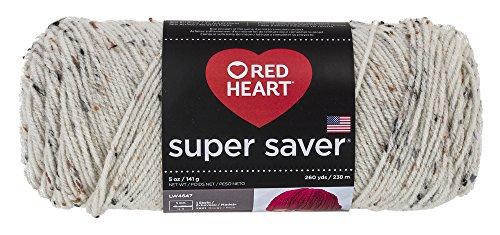 Red Heart Corazón rojo productos, Aran Fleck, 1