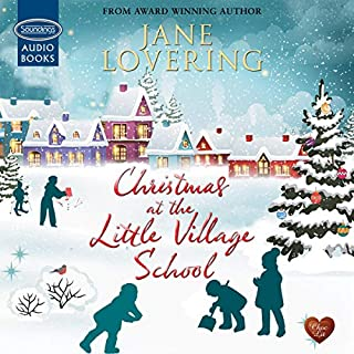 Christmas at the Little Village School audiobook cover art