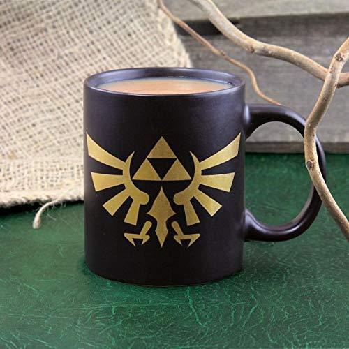 Paladone Mug Zelda Hyrule Logo 300 ml, Keramik, Multicolored, 12 x 12 x 0.38 cm
