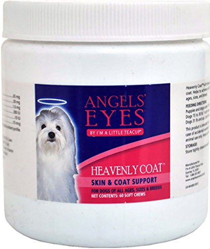 Angels' Eyes Heavenly Coat Soft Chews for Dogs - 60 Ct