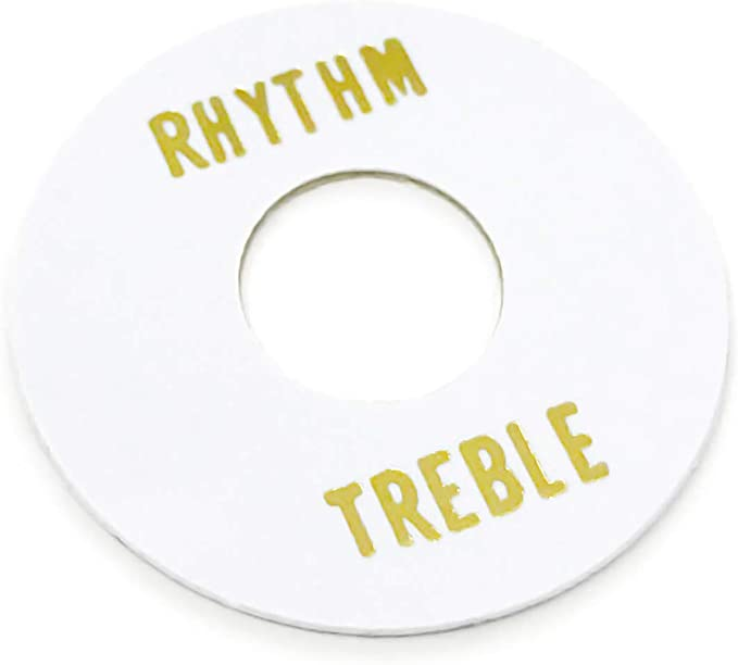 Goldene E Gitarre Pickup Toggle Legierung Rhythmus Treble Washer Ring Set