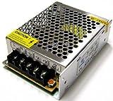 takestop® Alimentatore TRASFORMATORE 12V 50A per Striscia LED TELECAMERE DVR STABILIZZATO Switch Trimmer
